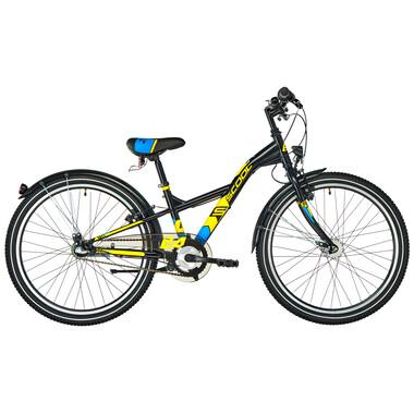 """Vélo de Ville S'COOL XXLITE Acier 3V 24"""" Noir 2020"""